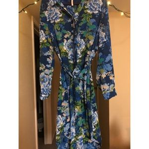 Laundry by Shelli Segal Floral Dress